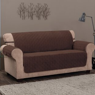 Box Cushion Sofa Slipcover by Alcott Hill Discount