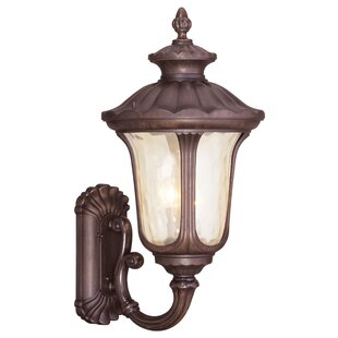 Gurnee Imperial Bronze 3-Light Outdoor Sc..