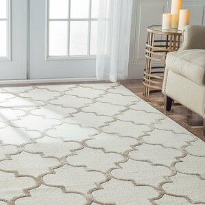 Banfield Geometric Hand-Tufted Area Rug