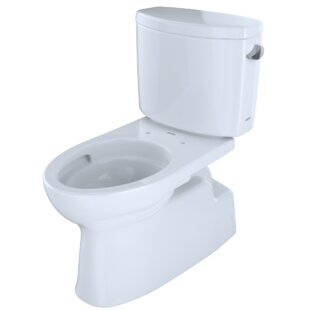 Toto Vespin® II 1.28 GPF Dual Flush Elongated Two-Piece Toilet