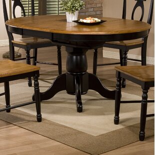 Courtdale Extendable Dining Table Three Posts