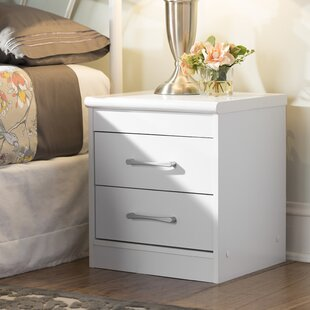 Andover Mills Hornby 2 Drawer Nightstand