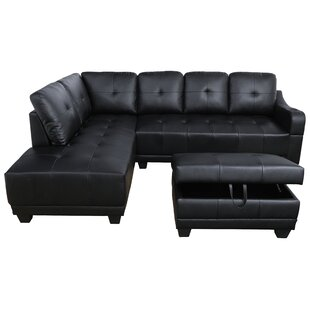 Latitude Run Waseca Sectional with Ottoman