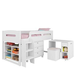 Viv + Rae Deion Twin Loft Bed with Storage