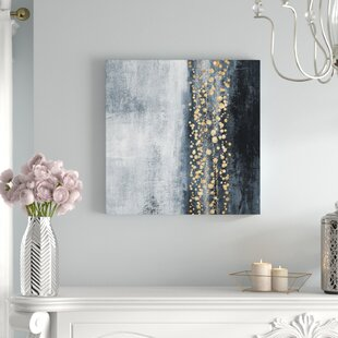 9c32cb65dd3a  Down The River Abstract Art  Print on Wrapped Canvas