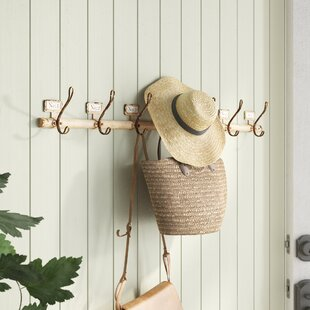 Malcolm Rustic Numbered Wall Mounted Coat Rack by Birch Lane™ Heritage
