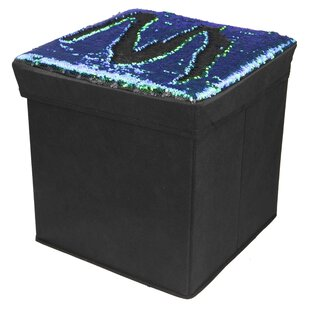Affordable Mermaid Storage Ottoman By Home Basics