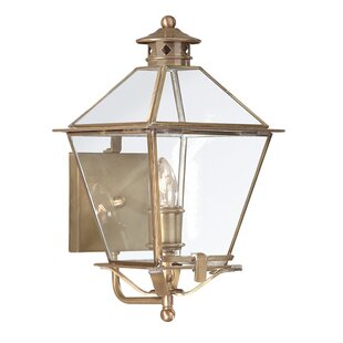 Price comparison Theodore 1-Light Outdoor Sconce By Darby Home Co