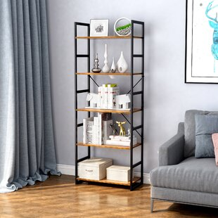 Skaggs 5-Tier Etagere Bookcase by Gracie Oaks