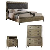 Cosima Upholstered Standard Configurable Bedroom Set by Gracie Oaks