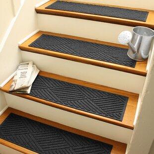 Black U0026 Gray Stair Tread Rugs