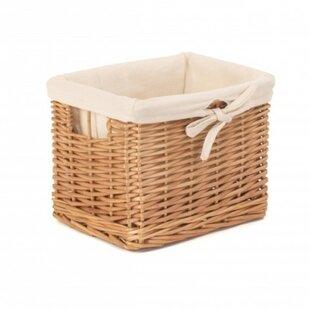 Small Deep Storage Wicker Basket By August Grove