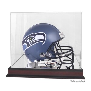 NFL Helmet Logo Display Case