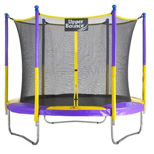 Upper Bounce 9' Trampoline with Safety Enclosure