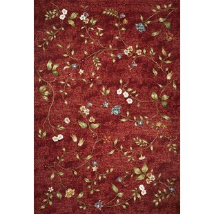 Ulysse Red Indoor/Outdoor Area Rug