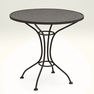 Parisienne Metal Dining Table by Woodard