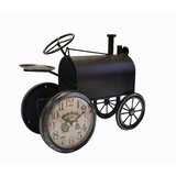 Vintage Tractor with Double Face Clock