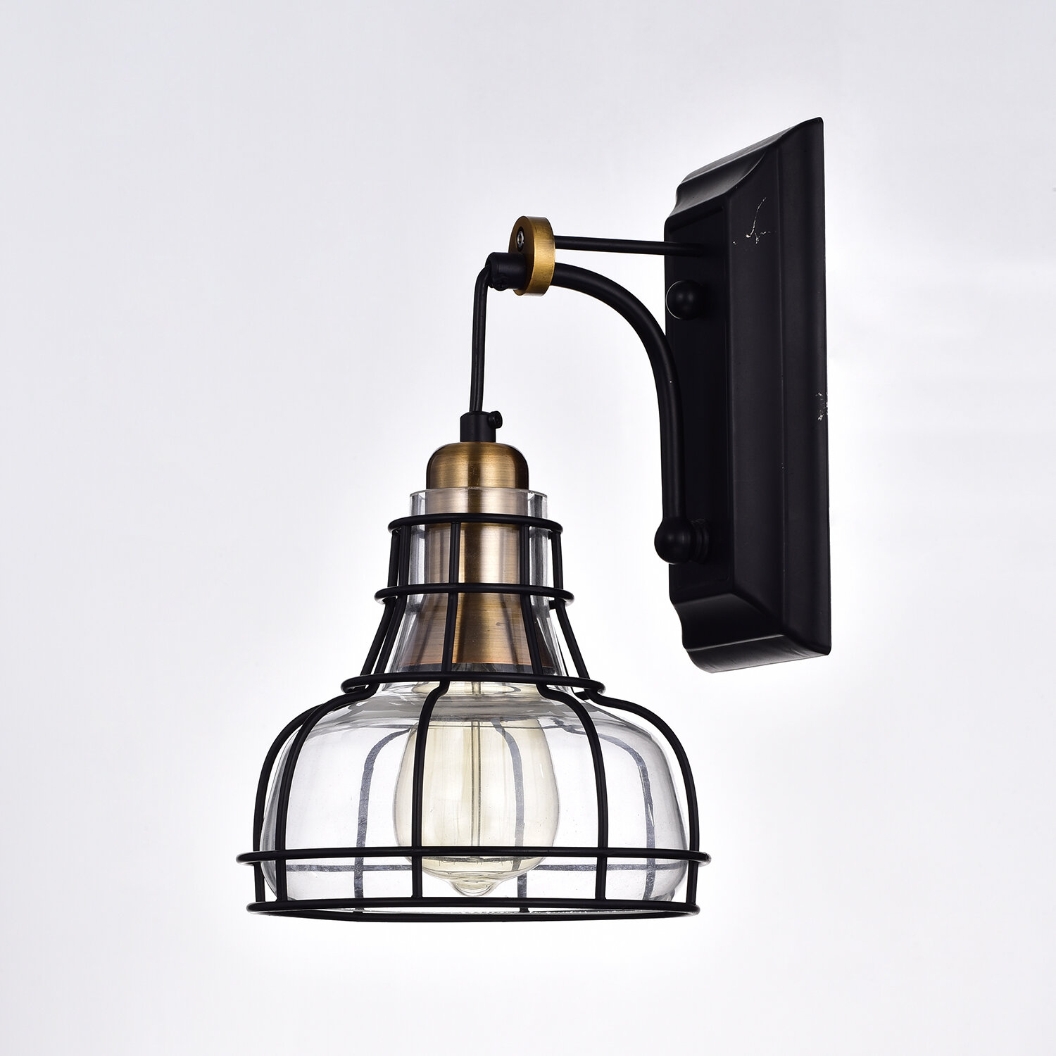 Williston Forge Sealey Indoor 1 Light Armed Sconce Reviews Wayfair