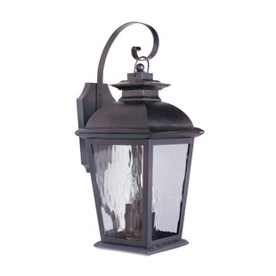 Red Barrel Studio Staggs 3-Light Outdoor Wall Lantern