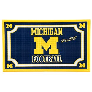 NCAA Embossed Door mat by Evergreen Enterprises, Inc