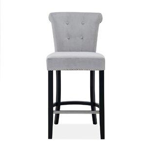 Ockton Upholstered Bar Stool By Ebern Designs