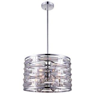 CWI Lighting Petia 4-Light Pendant