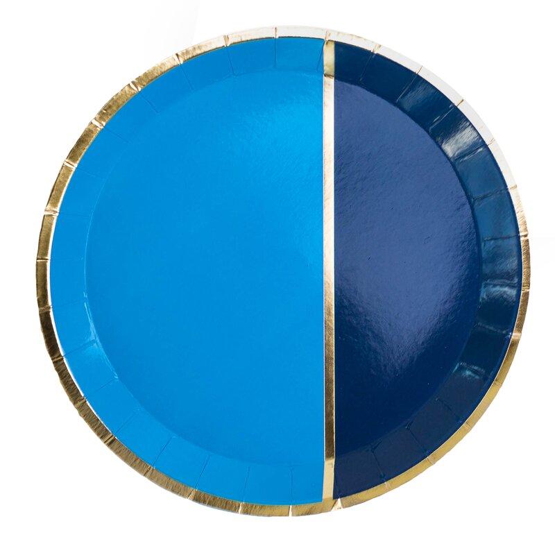 Jollity Co Party Boutique Markle Heavy Weight Paper Disposable Dessert Plate Wayfair