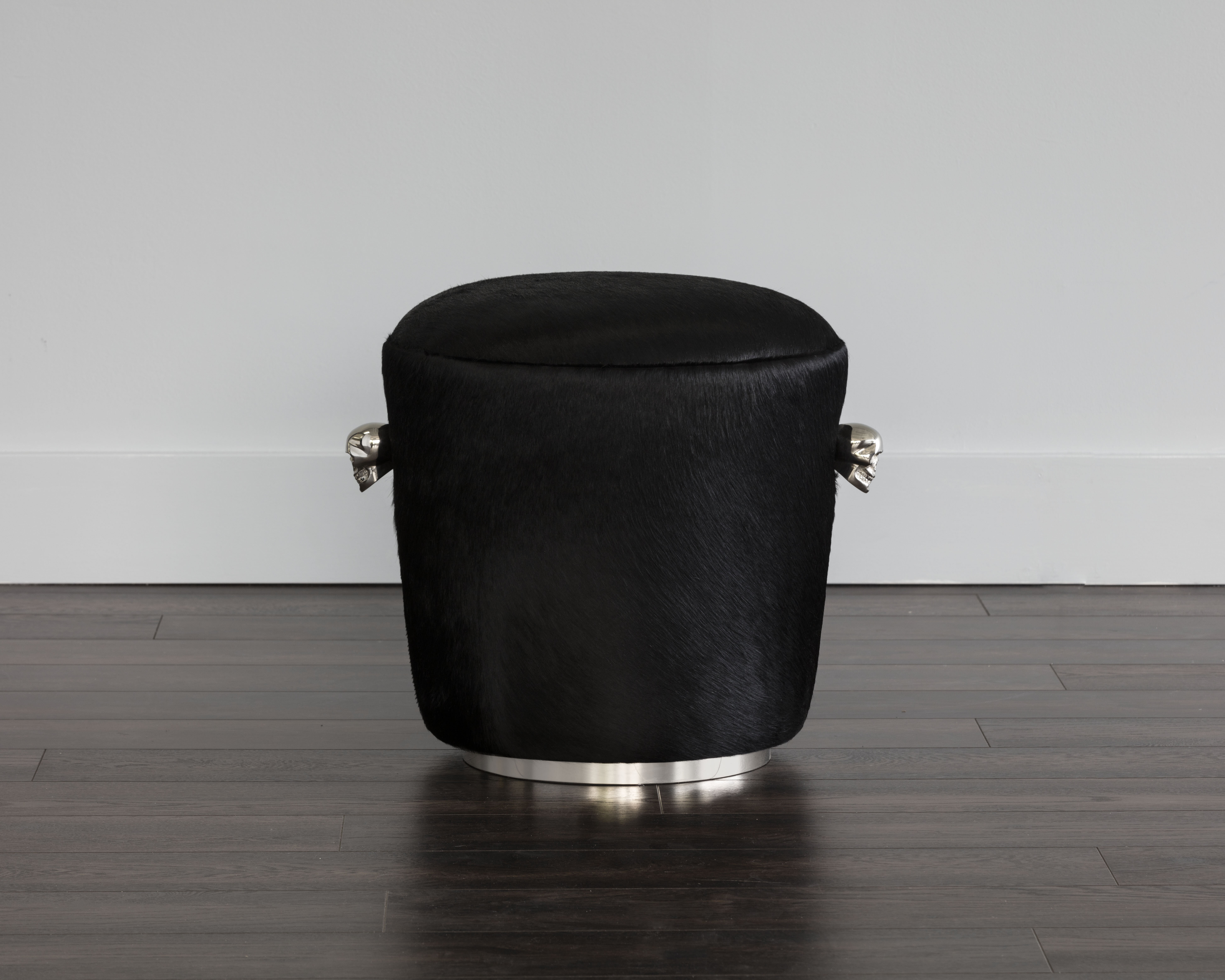 Orren Ellis Kalil Leather Cocktail Ottoman Wayfair