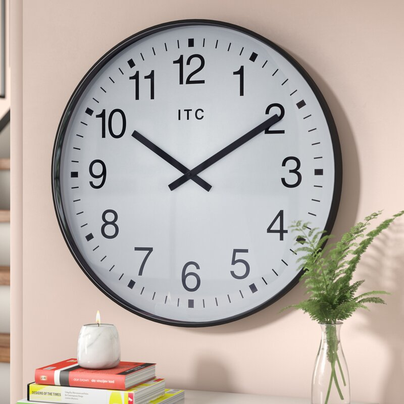 Latitude Run 19 Wall Clock Reviews Wayfair