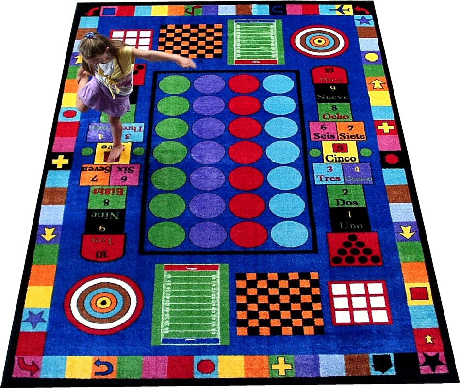 Great Game Time Area Rug