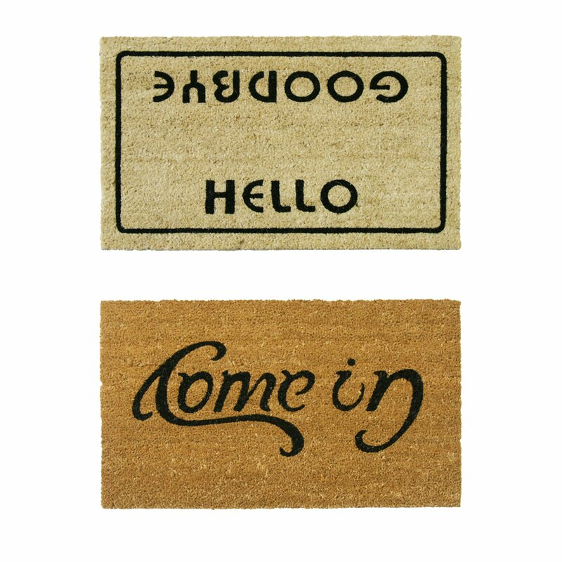 Welcome Go Away 30 In X 18 Outdoor Door Mat