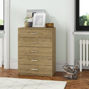Mary 5 Drawer Chest By Mercury Row