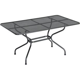 Sauceda Steel Dining Table By Sol 72 Outdoor