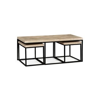 3 Piece Coffee Table Set by Jonathan Charles Fine Furniture SKU:BD814935 Information