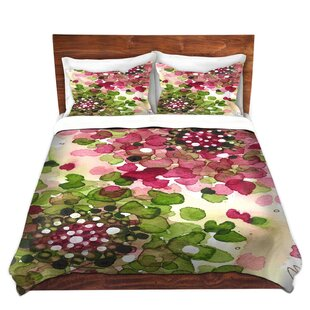 Martinek Dawn Derman Hydrangea Microfiber Duvet Covers