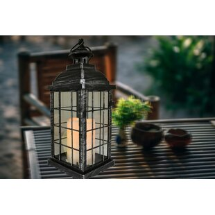 Rausch Battery-Operated 1 Light LED Outdoor Hanging Lantern