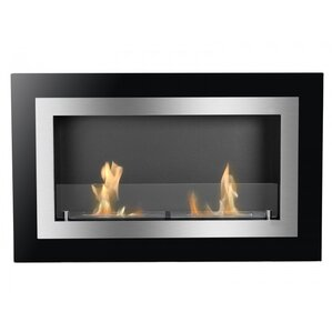 Villa Ventless Wall Mount Ethanol Fireplace by Ignis Products