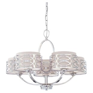 Willa Arlo Interiors Bela 5-Light Drum Ch..