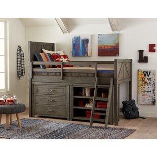 Bargain Hanah Twin Loft Bed ByHarriet Bee
