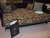 Pulsar 8 Memory Foam Futon Mattress