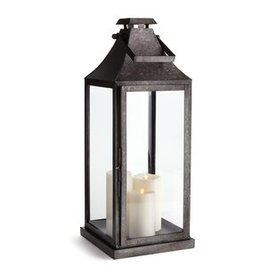 Stainless Steel Lantern by Breakwater Bay