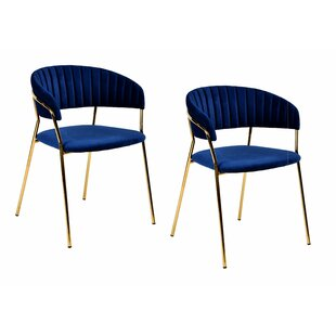 Albion Upholstered Dining Chair (Set of 2) by Mercer41