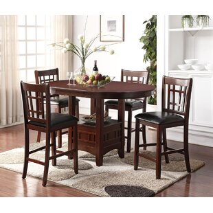 Nunez 5 Piece Pub Table Set Alcott Hill