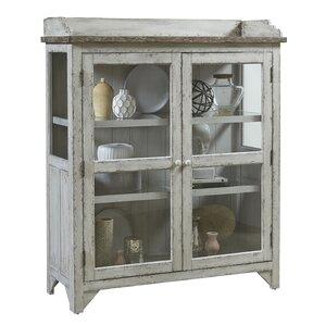 Fredericksburg Console Curio Cabinet by Laurel Foundry Modern Farmhouse