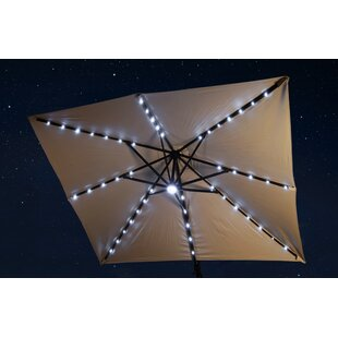 Blue Wave Products 9.5' X 11' Rectangular Lighted Umbrella