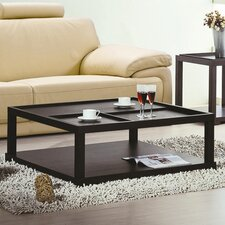 Coffee Table with Removable Tray by Hokku Designs