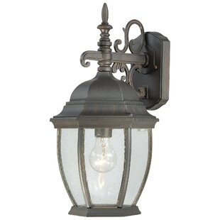 Brew 1-Light Outdoor Wall Lantern by Charlton Home