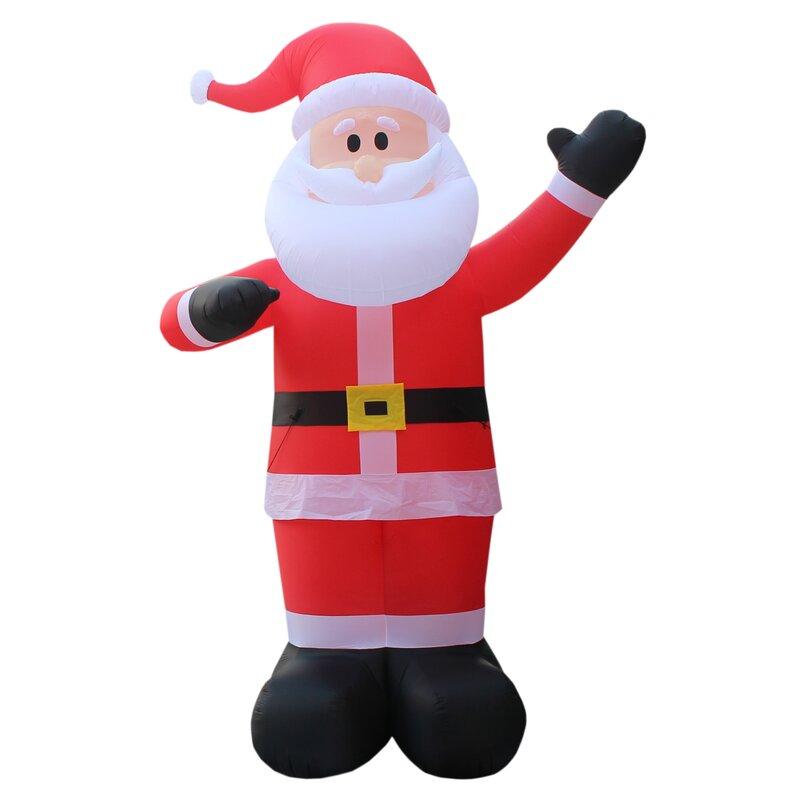 Christmas Santa Claus Cartoon Candy Cane Waterproof Fabric Shower Curtain Set LB