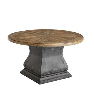 Gracie Oaks Astrid Outdoor Round Dining T..