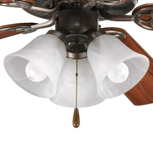 Scotty 3-Light Branched Ceiling Fan Light Kit